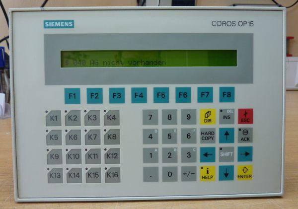 Operator Panel OP 15-A1 /COROS
