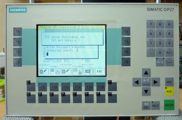 Siemens-OP27-Color-6AV3627-1LK00-1AX0