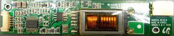 Inverterboard Green C & C Tech GH025A Rev.2.0 refurbished