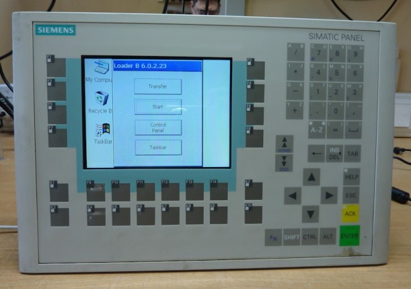Siemens-OP270-KEY-6-CSTN-6AV6-542-0CA10-0AX0