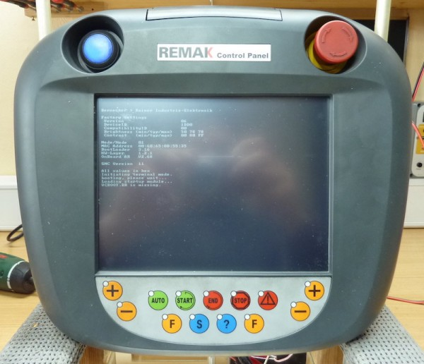 REMAK-Control-Panel