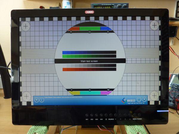 ABUS TVAC50030 Überwachungs Monitor